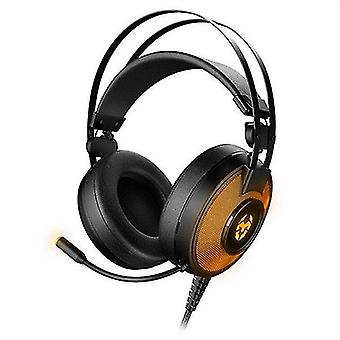 Game controllers gaming earpiece with microphone kayle usb black orange