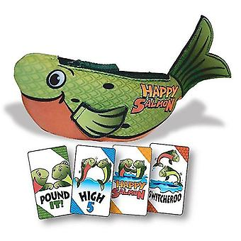 Card games happy salmon card game