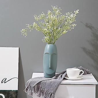 Moderna vaser i modern stil för inredning (Grön)