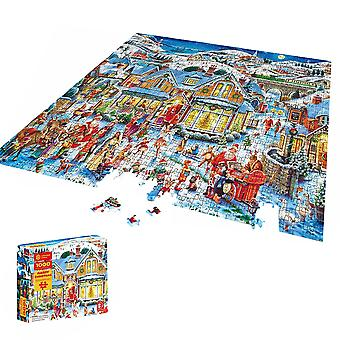 Homemiyn 1000 Piece Christmas Pattern Puzzle,kids Gifts For Christmas