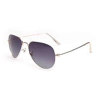 Kvinnor polariserade solglasögon anti-uv vit ram