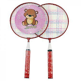 Raquette de badminton de dessin animé pour enfants