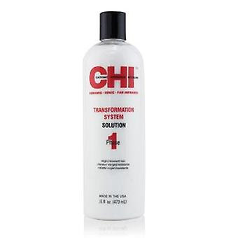Chi Transformation System Phase 1 - Solution Formula A (for Resistant/virgin Hair) - 473ml/16oz