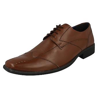 Mens Bruno Donnari Smart Lace Up Shoe NN 906