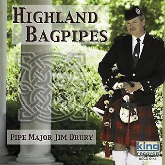Jim Drury - Highland Dudelsack [CD] USA import
