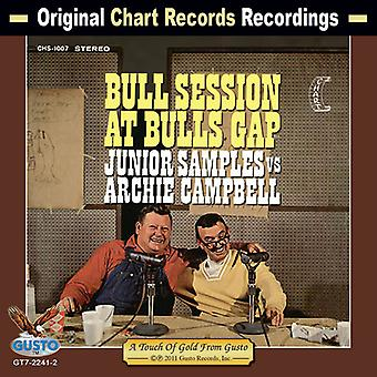 Junior Samples vs Archie Campbell - Bull Session at Bull's Gap [CD] USA import