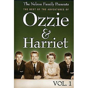 Ozzie y Harriet: Importación Vol. 1-mejor de las aventuras de los E.e.u.u. [DVD]