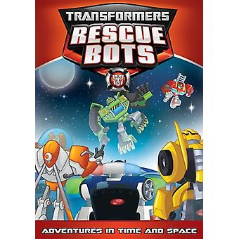 Transformatorer redning roboter: Eventyr tid & rom [DVD] USA import