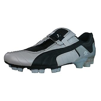 Puma V Konstrukt III GCi FG Mens Leather Football Boots / Cleats - Silver