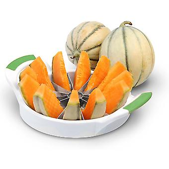 Modern Home Melon Slicer - Honeydew/Cantaloupe/Mini-watermelon Easy Slicing Tool - Medium Size