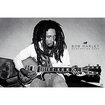Bob Marley - Redemption Song Poster Plakat-Druck