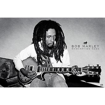 Bob Marley - Redemption Song juliste Juliste Tulosta