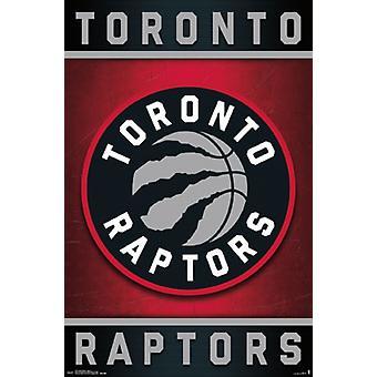 Toronto Raptors - logotipo 15 Poster Poster Print