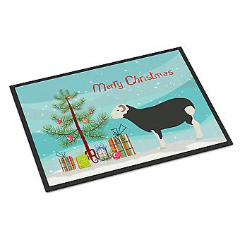 Herwick Sheep Christmas Indoor or Outdoor Mat 18x27
