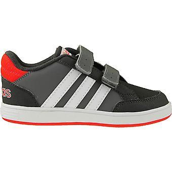 アディダス フープ Cmf Inf AQ1660 普遍的なすべての年幼児靴