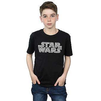 Star Wars Force de rapazes desperta Stormtrooper logotipo t-shirt