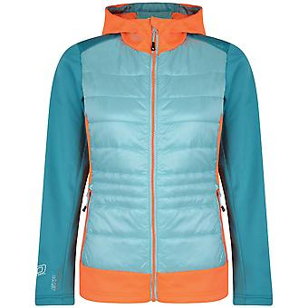 Dare 2b Womens/Ladies Inset Insulated Hooded Hybrid Jacket Coat