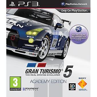 Gran Turismo 5 Academy Edition (PS3) - New
