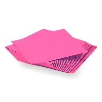 Hete roze servetten