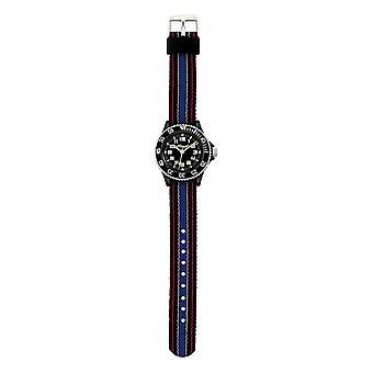Scout barn klocka lärande Scout svart och blå pojkarna Watch 280303011