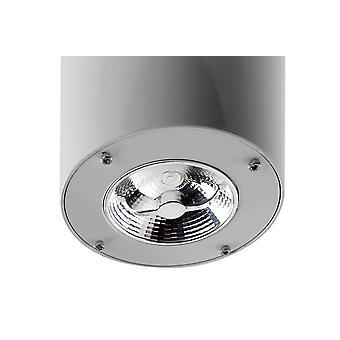 Utanpåliggande LED-armatur för takfläkt Formentera grå