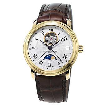 Frederique Constant Mens klassiekers Moonphase Heart Beat horloge automatische FC-335MC4P5