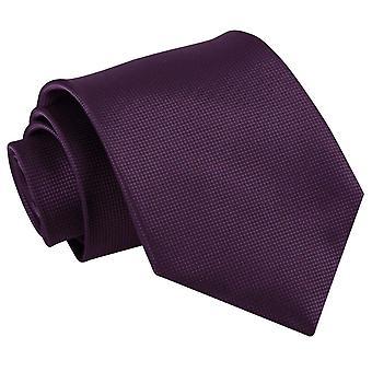 Cadbury lila solide Check klassische Krawatte
