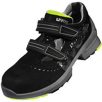 Uvex 1 8542844 Sandalias de trabajo de seguridad S1 Tamaño: 44 Negro 1 Par