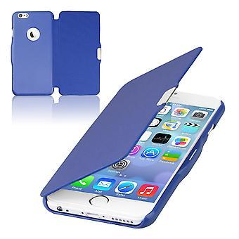 Flip copertura manica telefono caso cover Bookstyle per Samsung Galaxy S7 bordo blu