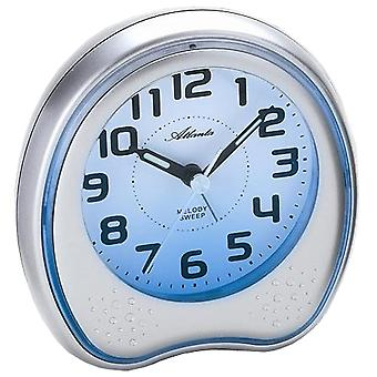 Quartz alarm clock alarm clock quartz Repeater light melody creeping second