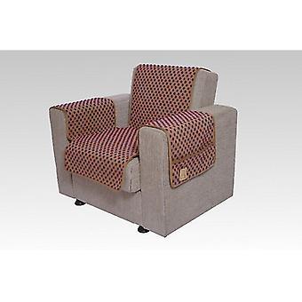 Podłokietniki - i fotel wygaszacz zestaw z 2 kieszenie MALI kolor: piaskowy kolor wełny