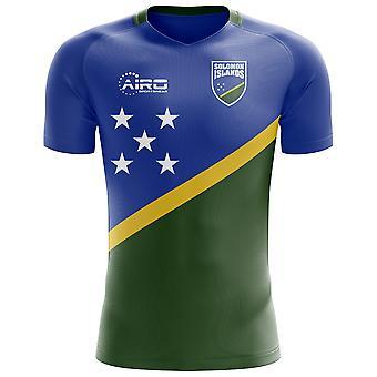 2018-2019 Solomon Islands Home Concept Football Shirt