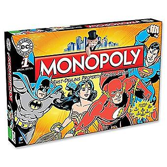 Monopoly DC Comics Retro Edition Family Board Game 2 to 6 Players