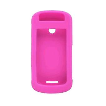 5 Pack -Silicone Gel Case for Motorola W835 Crush, Hot Pink