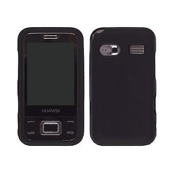 Capa de Gel de Silicone de soluções sem fio para Huawei M750 - preto