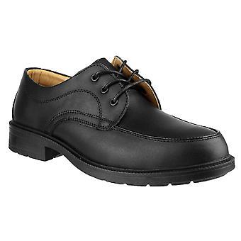 Amblers Mens FS65 sikkerhet Gibson stål tå skinn Oxford skoen S1-P-SRC