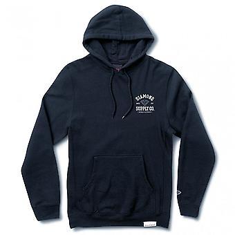 Diamond Supply Co Athletic Hoodie Navy