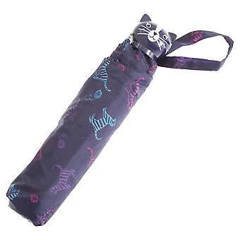 Drizzles Cat Print Umbrella