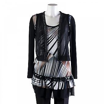 Joseph Ribkoff Print Tunic With Long Sleeve Jacket