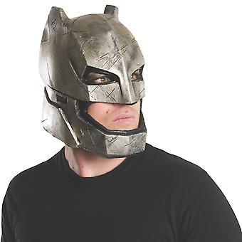Armored Batman v Superman Dawn of Justice Superhero Mens Costume Full Vinyl Mask