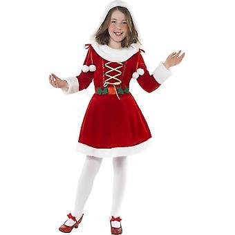 Little Miss Santa puku, normaali ikä 7-9