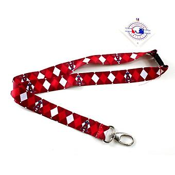 Los Angeles Angels MLB Argyle Lanyard