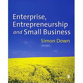 Entreprise - entrepreneuriat et petites entreprises, par Simon Down - 9781