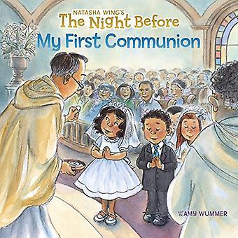 De avond tevoren mijn eerste communie
