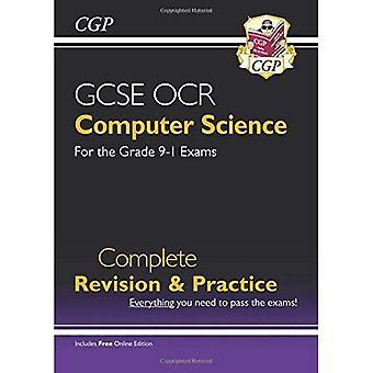 Nueva revisión completa computadora GCSE de ciencia OCR y práctica - grado 9-1 (con edición en línea) (libro en rústica)