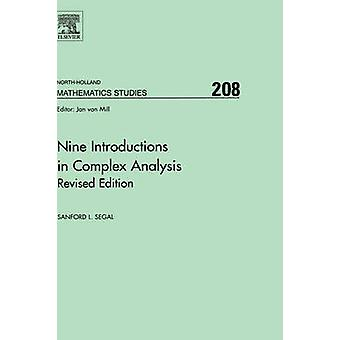 Nine Introductions in Complex Analysis  Revised Edition by Segal & Sanford L.