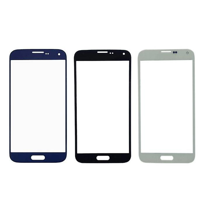 Stuff Certified® Samsung Galaxy S5 i9600 AAA + Quality Front Glass - Blue