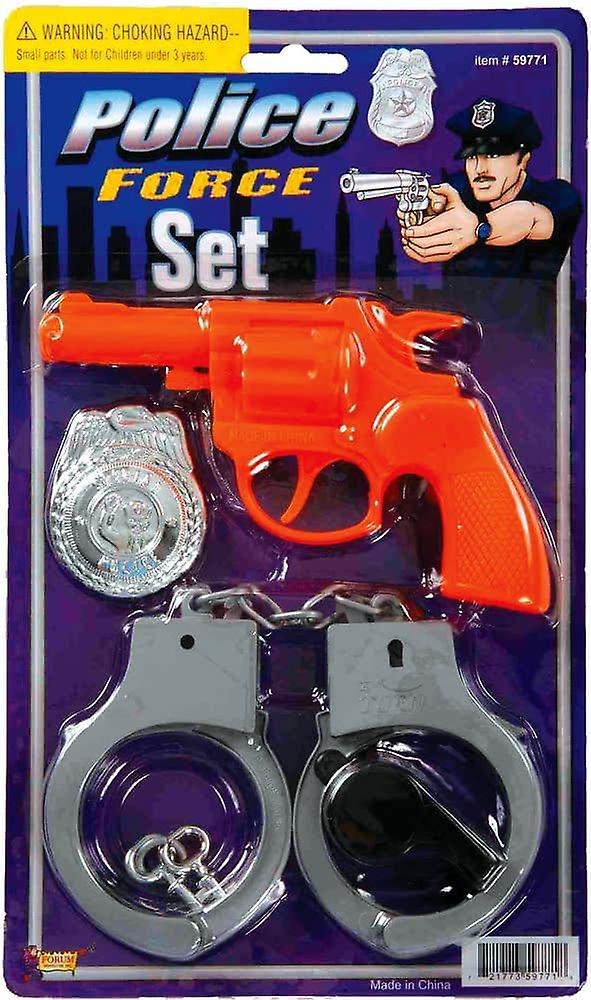 Zestaw zabawek policji