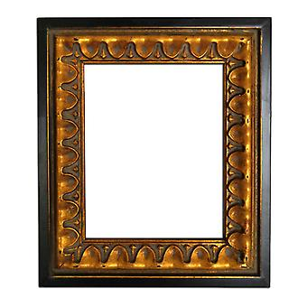 27x32 cm or 10x12 inch, mirror in gold
