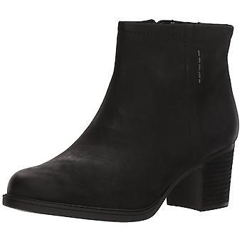 Cobb Hill Womens Natashya Leather Almond Toe Ankle Fashion Boots
